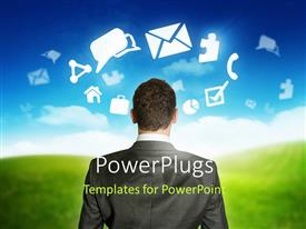 PowerPlugs: PowerPoint template with a professional looking towards various apps