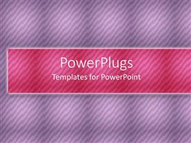 PowerPlugs: PowerPoint template with a purple background and pinkish place for text