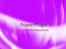PowerPlugs: PowerPoint template with a purple background with place for text