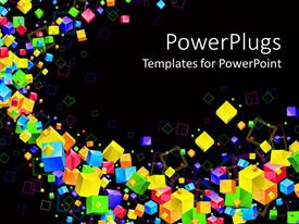 PowerPlugs: PowerPoint template with rainbow theme