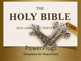 PowerPlugs: PowerPoint template with a representation of the old testimony