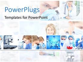PowerPlugs: PowerPoint template with a lot of surgeons in one picture