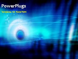 PowerPlugs: PowerPoint template with the search engine optimization concept being hit with an arrow