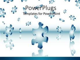 Puzzle Piece Powerpoint Template Free