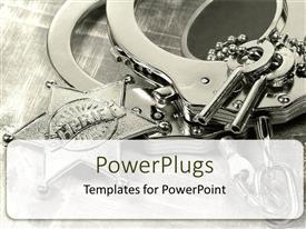 PowerPlugs: PowerPoint template with sharif Key locks