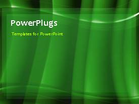PowerPlugs: PowerPoint template with a shirt video of a  plain black background