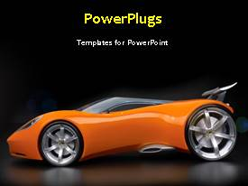 PowerPlugs: PowerPoint template with a short video of an abstract background