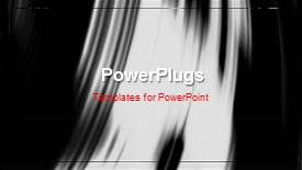 PowerPlugs: PowerPoint template with a short video of an abstract background - widescreen format