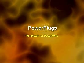 PowerPlugs: PowerPoint template with a short video of an abstract background with hazy images