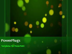 PowerPlugs: PowerPoint template with a short video of an abstract of bursting particles