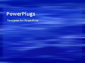 PowerPlugs: PowerPoint template with a short video of an abstract colored background