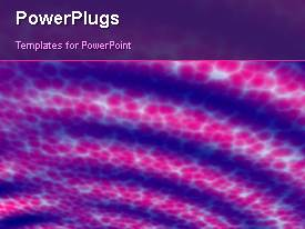 PowerPlugs: PowerPoint template with a short video of an abstract purple colored background