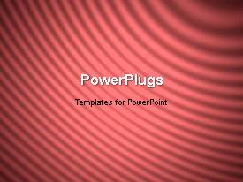 PowerPlugs: PowerPoint template with a short video of an abstract wine colored background