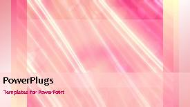PowerPoint template displaying a short video of a colored abstract background - widescreen format