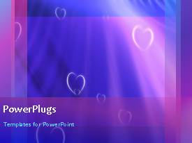 PowerPlugs: PowerPoint template with a short video of a colored abstract background