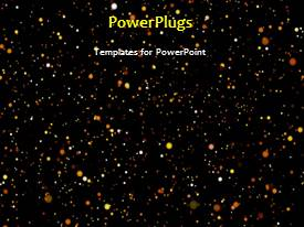 PowerPlugs: PowerPoint template with a short video showing an abstract of moving space