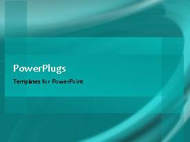 PowerPlugs: PowerPoint template with a short video showing an abstract of a pale blue background