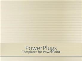 PowerPlugs: PowerPoint template with simple bold striped background with lines and gradient color