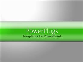 PowerPlugs: PowerPoint template with a simple grey background with place for text