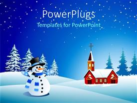 snowman powerpoint templates  crystalgraphics, Powerpoint