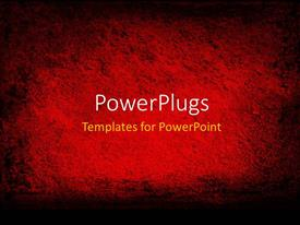 PowerPlugs: PowerPoint template with textured red background framed in black