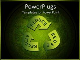 PowerPlugs: PowerPoint template with three ways to use the products again and again