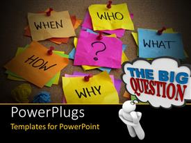PowerPlugs: PowerPoint template with uncertainty brainstorming or decision making concept