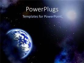 PowerPlugs: PowerPoint template with the Universe