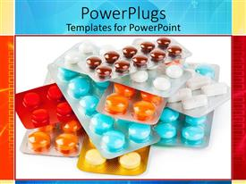 PowerPlugs: PowerPoint template with variation of pills in color and shape