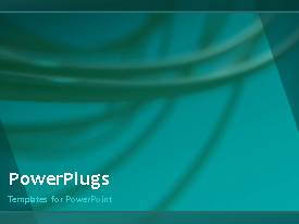 PowerPlugs: PowerPoint template with a video of an abstract technology background