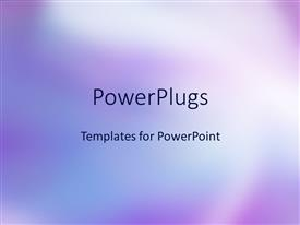 PowerPlugs: PowerPoint template with watercolor purple background, bold purple background with combined light and shades