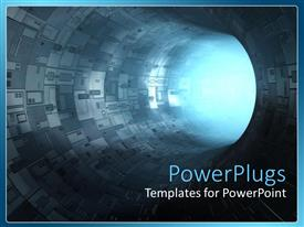 PowerPlugs: PowerPoint template with the way to Light
