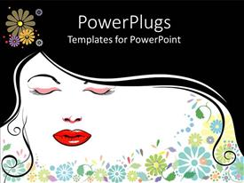 PowerPlugs: PowerPoint template with women Beauty