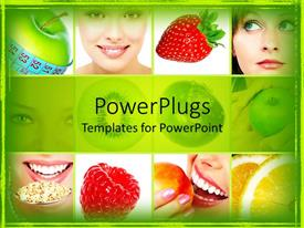 nutrition powerpoint templates  crystalgraphics, Powerpoint