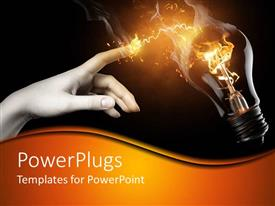 PowerPlugs: PowerPoint template with women and technology